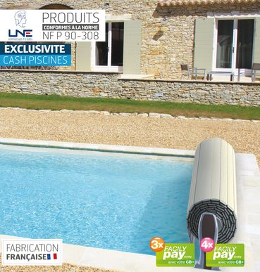 Couverture Automatique Plug Safe Cash Piscines
