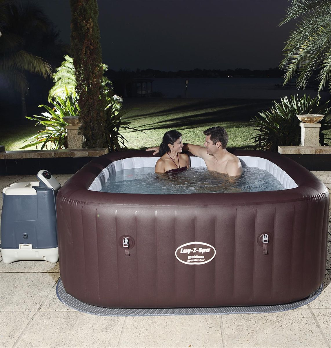 SPA GONFLABLE BESTWAY LAY-Z-SPA MALDIVES HYDROJET PRO 5-7 pers