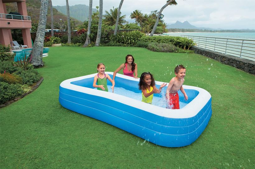 Piscine gonflable rectangulaire 305x183cm cash piscines for Avis cash piscine