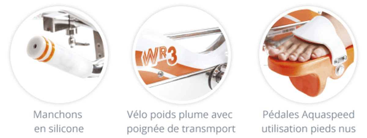 VELO PISCINE WATERFLEX WR3
